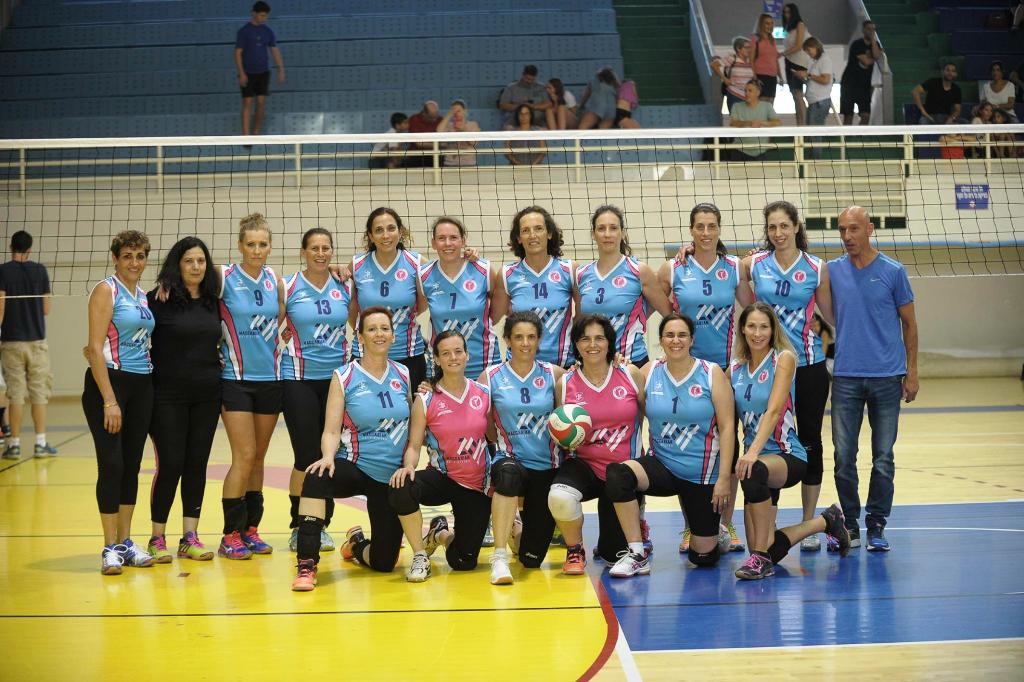 אלופת המכביה ה-20 - נבחרת חיפה | קפטנית: דפנה קצנשטיין  | מאמן: ניר שאול