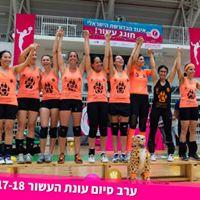 אלופת ישראל 2018 - Cheetah רעננה | קפטנית: רונית שיר | מאמנת: ויקה גונזלס